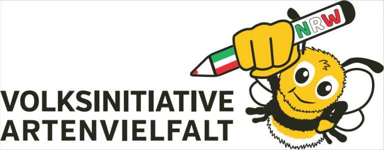 Logo der Volksinitiative Artenvielfalt NRW